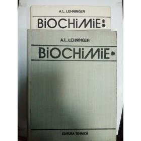 BIOCHIMIE - LEHNINGER - 2 volume