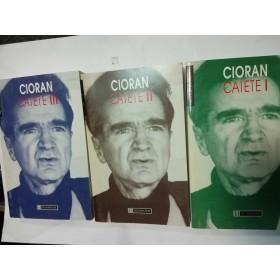 CIORAN - CAIETE - 3 volume