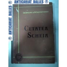 CETATEA SCHEIA - Monografie arheologica- Gh.Diaconu / N.Constantinescu