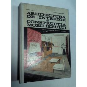ARHITECTURA DE INTERIOR SI CONSTRUCTIA MOBILIERULUI
