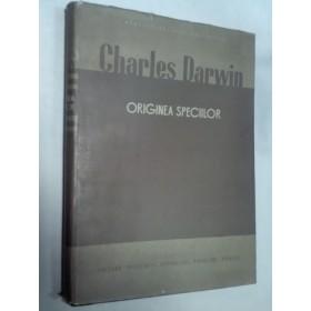ORIGINEA SPECIILOR -CHARLES DARWIN