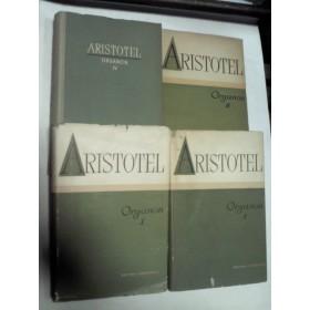 ARISTOTEL ORGANON -4 volume