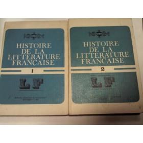 ISTORIA LITERATURII FRANCEZE -ANGELA ION