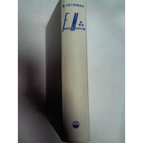 FIZICA MODERNA -Richard FEYNMAN -volumul 3