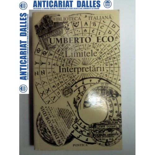 LIMITELE INTERPRETARII -UMBERTO ECO