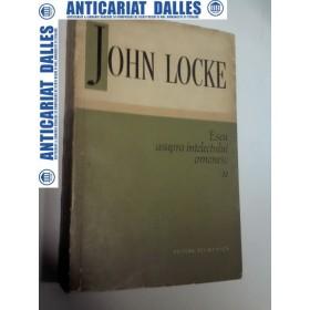 ESEU ASUPRA INTELECTULUI OMENESC -John LOCKE - volumul 2