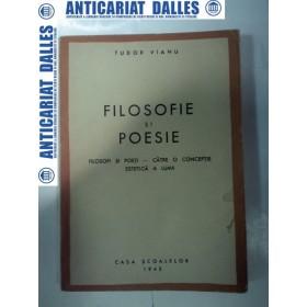 FILOSOFIE SI POEZIE - TUDOR VIANU -1943