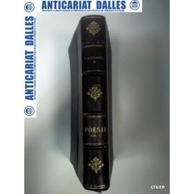 V.ALECSANDRI -OPERE COMPLETE- POEZII -vol. 1 -Doine/Lacrimioare/Suvenire/Margaritarile -1897