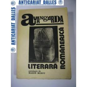 Avangarda literara romaneasca-antologie de Marin Mincu