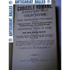 CODICELE ROMANE 1865 + CONSTITUTIA 1866
