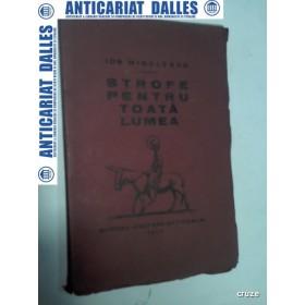 STROFE PENTRU TOATA LUMEA - ION MINULESCU -1930