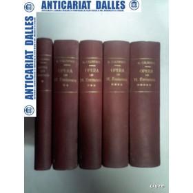 OPERA LUI MIHAI EMINESCU - G.CALINESCU - 5 volume 1935-1936 ( exemplare numerotate ,din cele nepuse in comert)