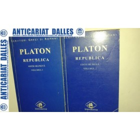 PLATON - REPUBLICA - 2 volume -editie bilingva