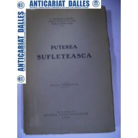 PUTEREA SUFLETEASCA - C.RADULESCU -MOTRU1930