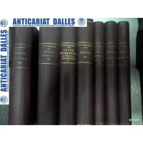 I.L.CARAGIALE - OPERE- 7 VOLUME -editia ZARIFOPOL / CIOCULESCU ( 1930-1942)