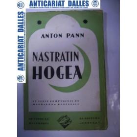 NASTRATIN HOGEA - ANTON PANN -cu cinci compozitii de Magdalena Radulescu-Ex .39 din 100 semnat de M.Radulescu