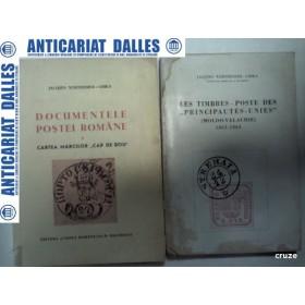 DOCUMENTELE POSTEI ROMANE -Jacques Wertheimer-Ghika - 2 volume -1945