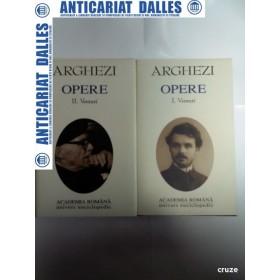 TUDOR ARGHEZI -OPERE -VERSURI- 2 volume ( editia Academiei Romane)