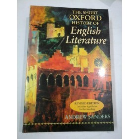 THE SHORT OXFORD HISTORY OF ENGLISH LITERATURE - ANDREW SANDERS