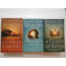 A GAME OF THRONES (3 volume) - George R.R.Martin