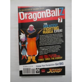 DragonBallZ  A collection of volumes 19-21  The greatest  FIGHTING  MANGA  EVER!  -  AKIRA  TORIYAMA  -  Volume 7