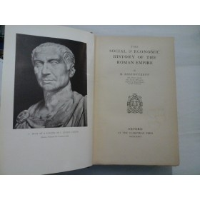 THE  SOCIAL  ECONOMIC  -   HISTORY  OF  THE  ROMAN  EMPIRE  -  M.  ROSTOVTZEFF