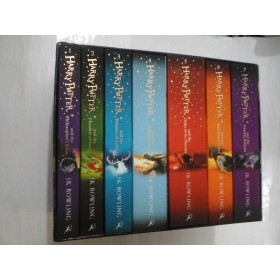 HARRY POTTER - J.K.RAWLING (7 Volume in limba engleza)
