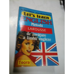 LET'S LEARN ENGLISH - LO-ANN PETERS  JEAN-MICHEL RAVIER