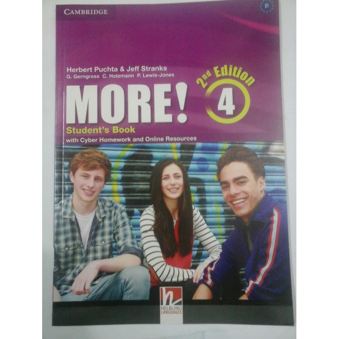 CAMBRIDGE - MORE!  -  SECOND EDITION  -  4  - Student˙s  Book  - H. Puchta & J. Stranks