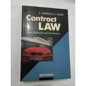 CONTRACT LAW (Legea contractelor) - S.Wheeler / J.Shaw