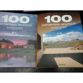 100 CONTEMPORARY ARCHITECTS - PHILIP JODIDIO - 2 volume